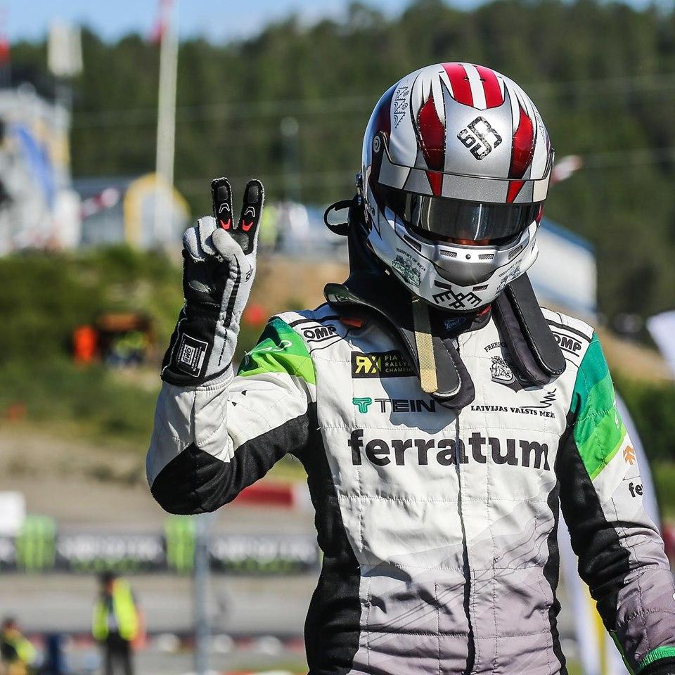 Rallijkross: Jānim Baumanim pirmais pjedestāls pasaules čempionātā!