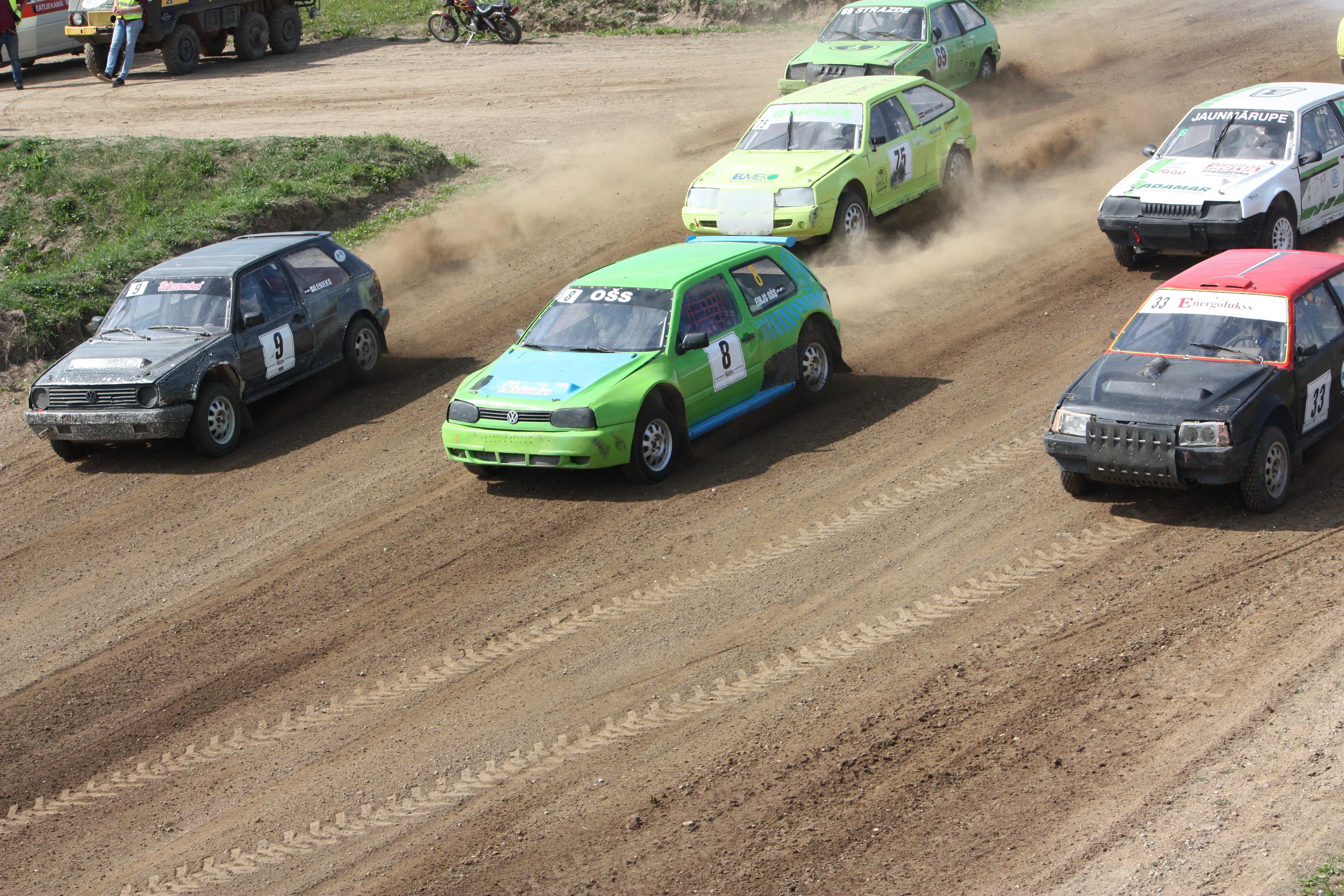 Autokross/Rallijkross: Krosa braucējiem aktīva nedēļas nogale